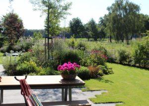 Grote tuin in Berghem