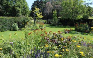 Tuin met water geeft rust